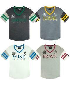 Harry-Potter-Hogwarts-House-Crests-Varsity-Women-039-s-T-Shirt-Gryfinndor