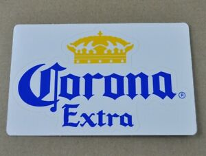 Corona-Extra-Bier-USA-Vinyl-Aufkleber-Sticker-Decal-14-x-9-cm