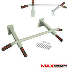 MAXSTRENGTH Pull Up Bar Wall Mounted Chin Ups Exercise Home Door Iron Bracket