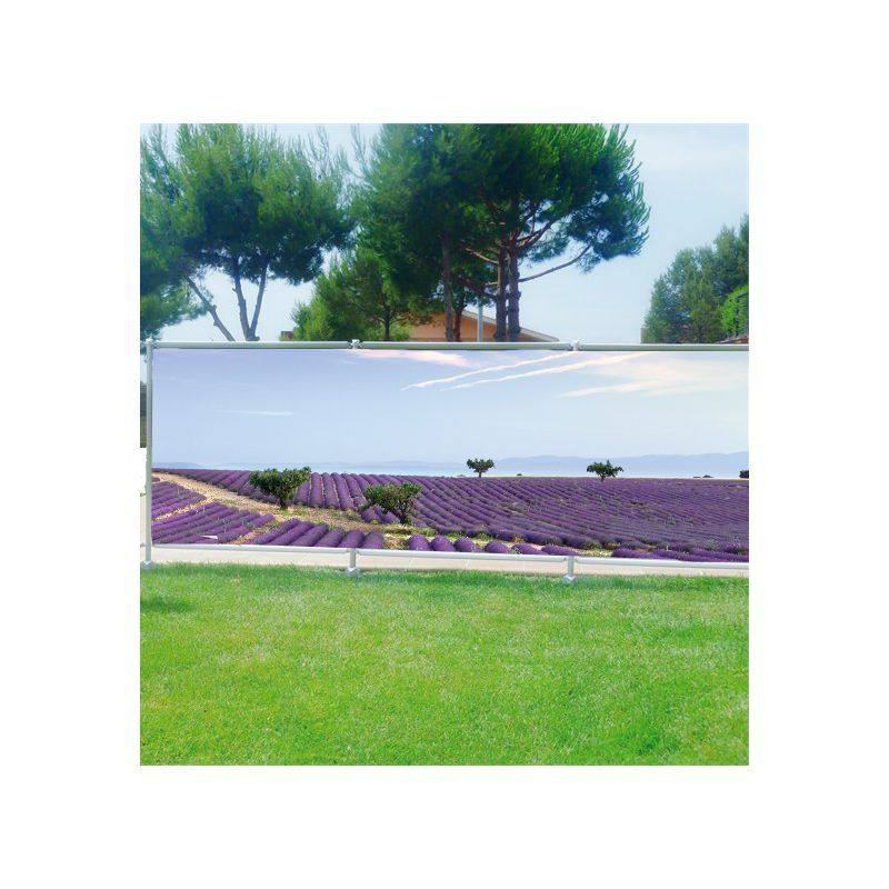 Brise vue vue vue déco imprimé pour jardin balcon ou terrasse ...