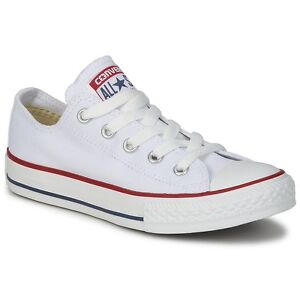 Details about Converse All Star ox Canvas Womens Trainers Shoes White Size 5 UK 37.5 EU