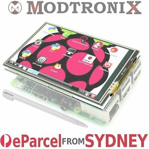 3-5-034-Inch-LCD-Touch-Screen-Display-320-480-Raspberry-Pi-3-amp-2-eParcel-from-Sydney