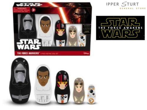 Star Wars Episode 7 Nesting Dolls Set Expert Packaging
