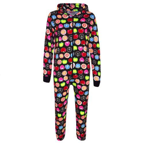 Kids Girls Boys Fruit Print Cotton A2Z Onesie One Piece All In One Jumpsuit 2-13