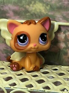 Littlest Pet Shop Kitten Baby Cat Rare Purple Eyes 248 Authentic Lps