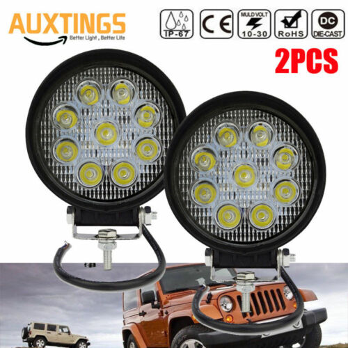 18W 27 36W 48W LED CREE WORK LIGHT BAR FLOOD SPOT OFFROAD DRIVING LAMP for JEEP
