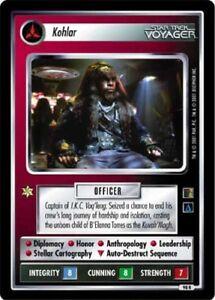 The Emissary Star Trek Lightly Played STCCG Decipher 1E