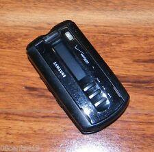 Samsung SCH A930 - Black (Verizon) CDMA Cellular Flip Phone w/ A/C Power Supply