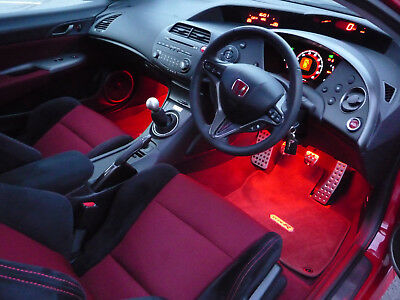 Mugen Honda Civic Type R GT FN2 2006 - 2011 Ambient Footwell LED Lighting  Kits | eBay