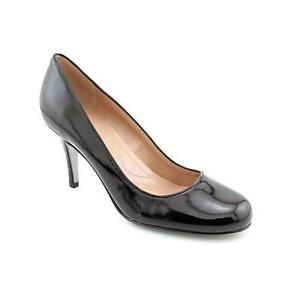 Womens Tahari James Black Patent Leather Dress Shoes High ...