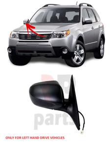 Para-Subaru-Forester-2008-2010-Ala-Espejo-Electrico-Climatizada-para-pintar-DERECHO-LHD
