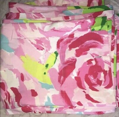 First Impression Rose Shower Curtain, Lilly Pulitzer First Impression Bedding