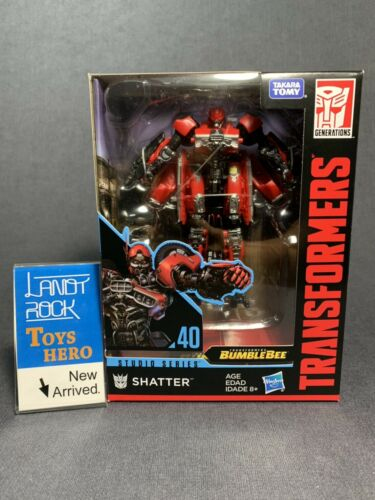 In Hand Transformers Studio Series D class SS-40 Shatter SS40 Toys Hero