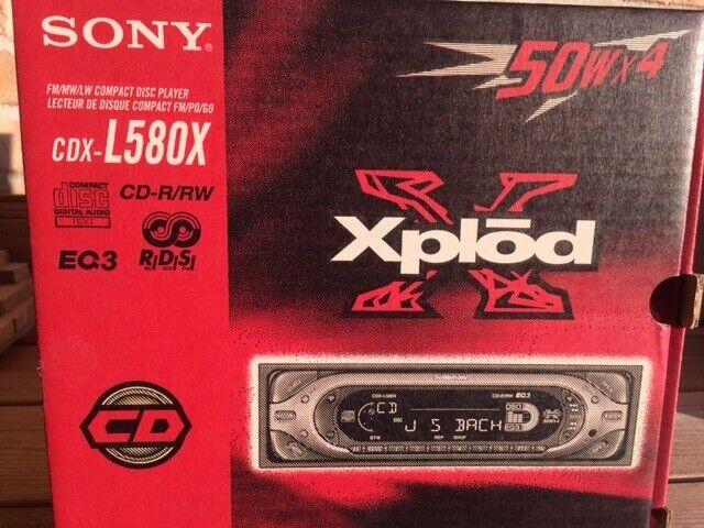 Sony CDX - L580X, CD/Radio