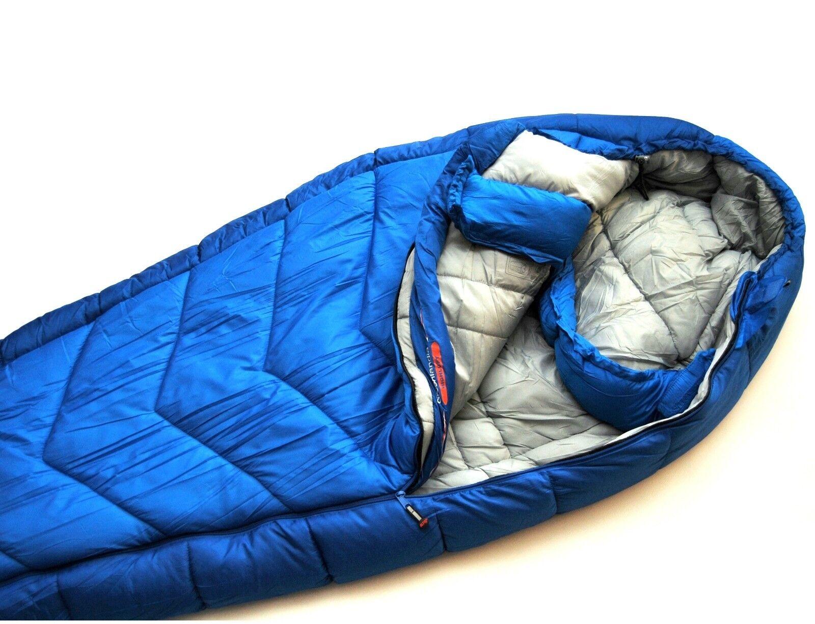 Mummy Sleeping Bag 4 Season GROENLAND Hiking Outdoors extrem - 30 °C