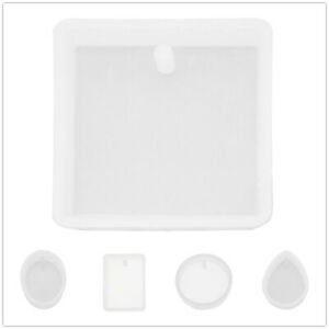 10pcs-Mixed-Assorted-Silicone-Casting-Molds-Tools-White-Pendant-DIY-Accessories