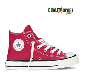 29f34d4139 Image is loading Converse-Chuck-Taylor-Red-Child-Sports-Shoes-Sneakers-