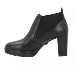Callaghan scarpe donna stivaletti con tacco 23705 nero