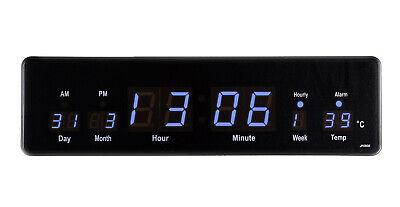 Vorsichtig Led Uhr Wanduhr Datum Temperatur Anzeige Digital Datum Bar Café Jh808 Kaufe Eins, Bekomme Eins Gratis