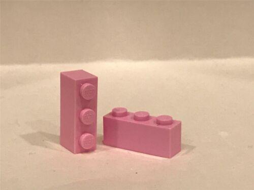 3622 LEGO Parts~ 6 Brick 1 x 3 ~ 3622 BR LT PINK
