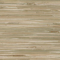 Neutral Colors Unpasted Real Textured Grasscloth Wallpaper 488-403