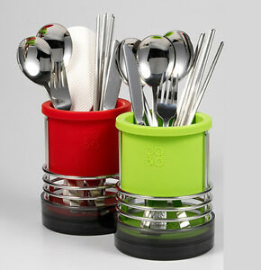 Image Is Loading Kitchen Utensils Holders  Fork Spoon Knife Basket Chopsticks