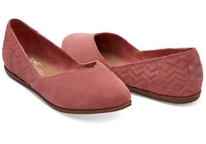 TOMS® Faded Rose Suede Jutti Flat beLvEncHJ1