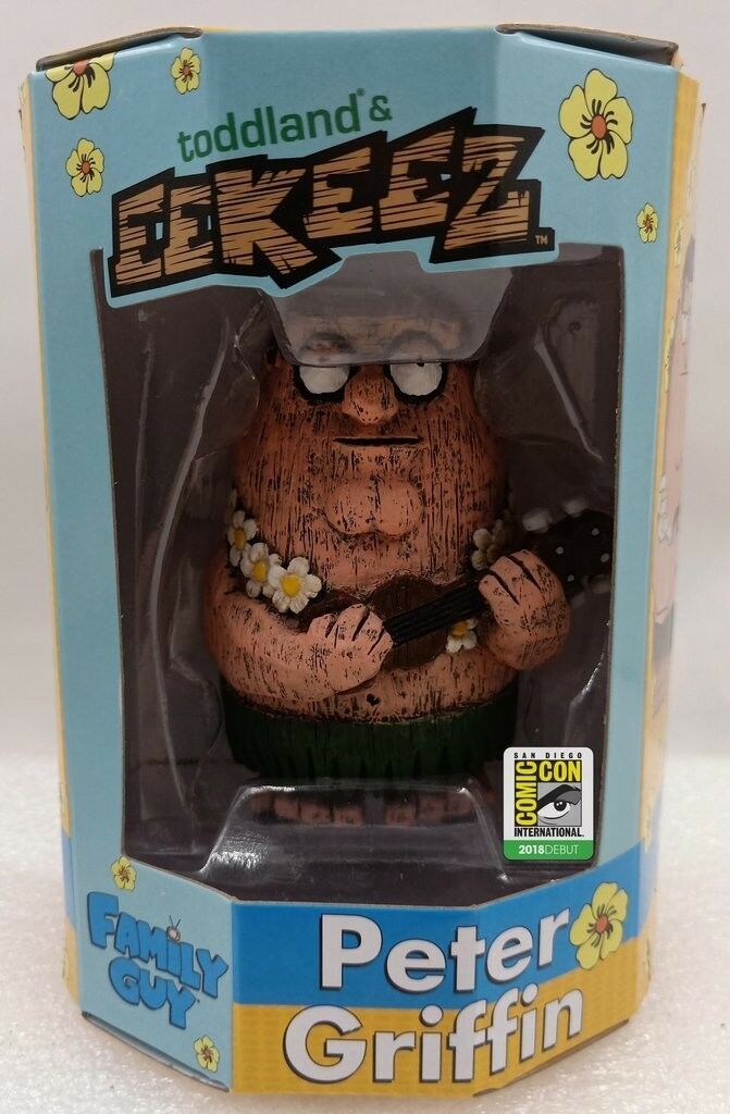 SDCC 2018 Exclusive toddland Eekeez Peter Griffin Family Guy Tiki Hula LE of 360