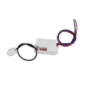 Mini PIR Bewegungsmelder Zum Einbau Für 230V AC Infrarot 120° Für LED Bis 800W
