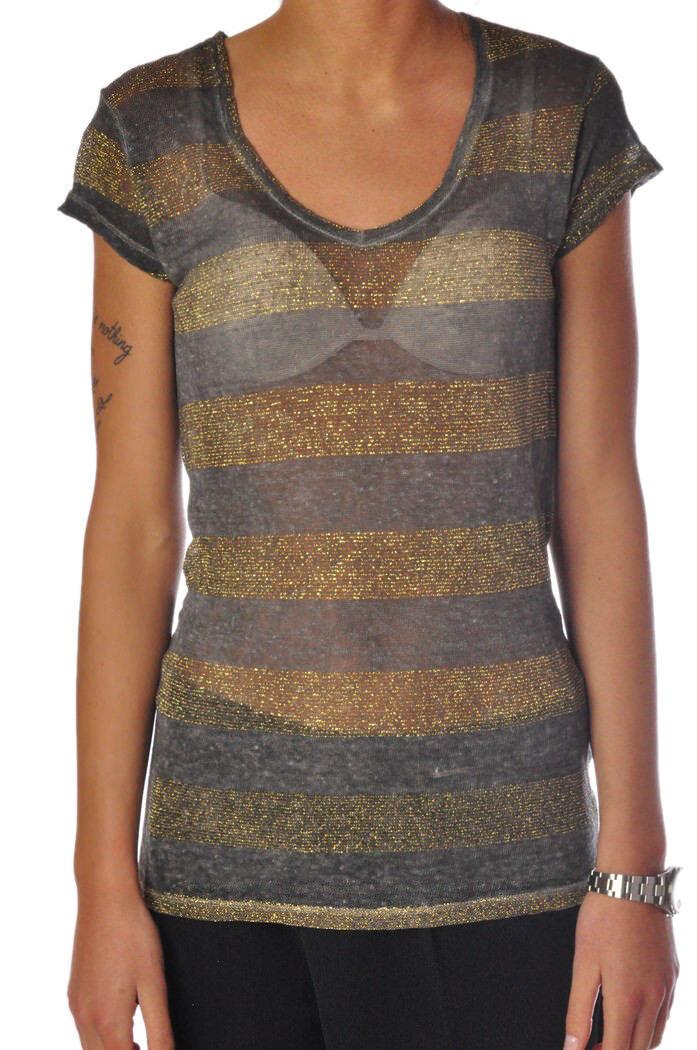 Rosa Memories - Topwear-T-shirts - frau - Grau - 831218C181512