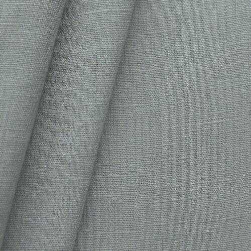 Leinenstoff Mittel Grau Meterware 136cm breit Kleiderstoff Dekostoff Hosenstoff