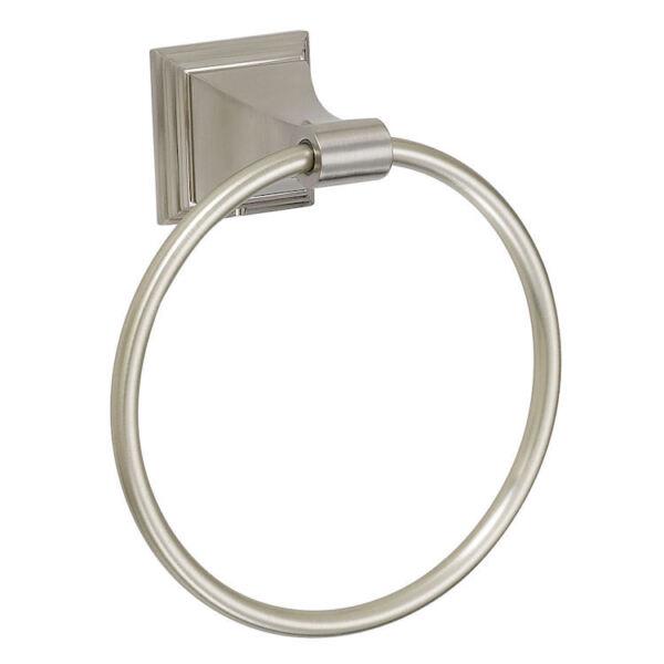 Heb Een Onderzoekende Geest Designers Impressions 400 Series Satin Nickel Towel Ring [ba404] Goed Voor Energie En De Milt