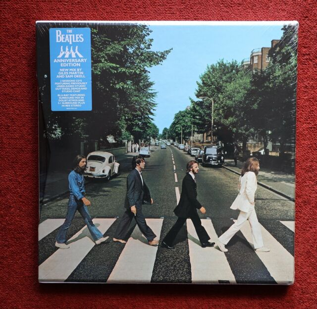 The Beatles Abbey Road 50th Anniversary CD Super Deluxe Box Set - 3CD & Blu-Ray
