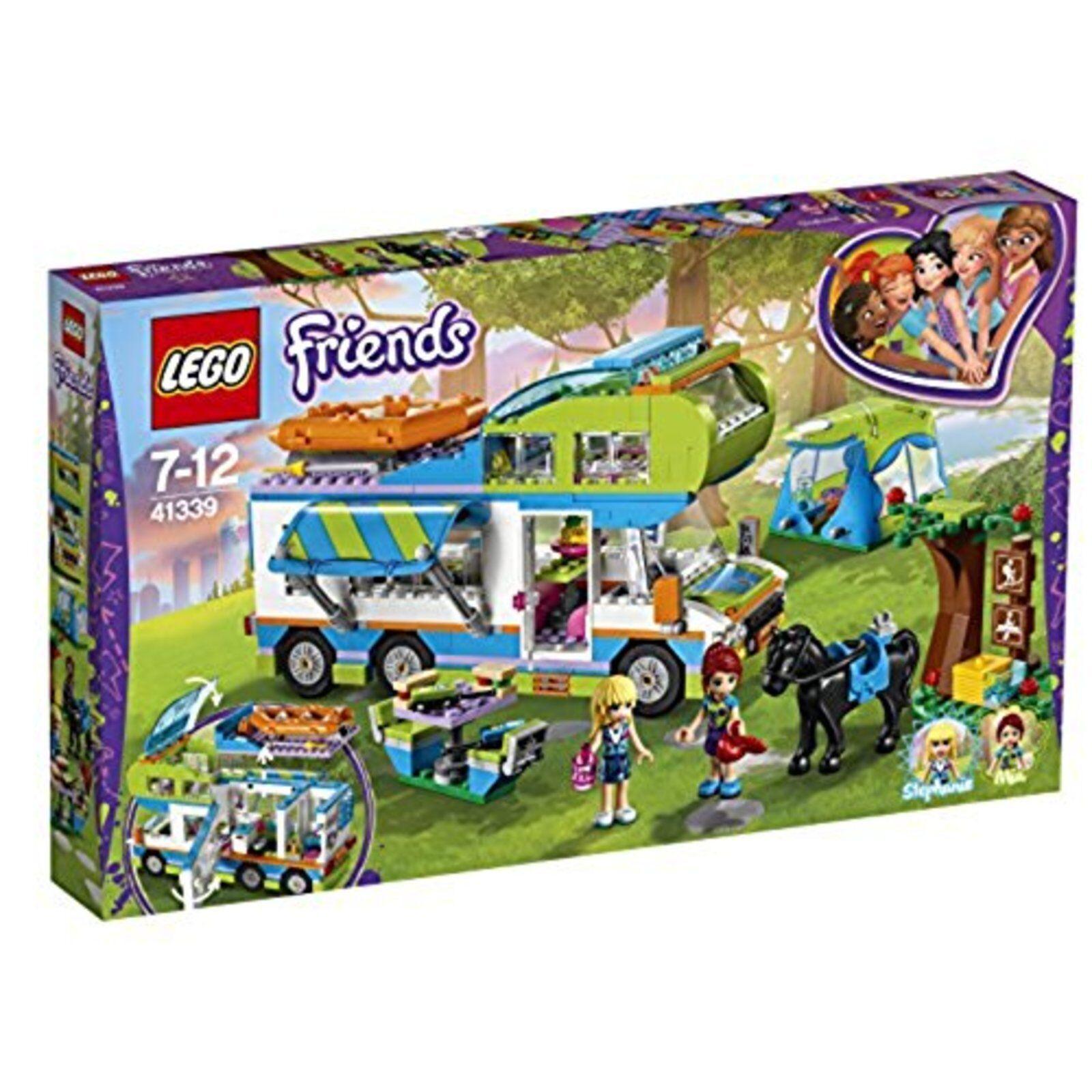 Lego Amis Mia Camping Voiture  Bloque Construction Jouet 41339 F S W   10 jours de retour
