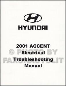 2001 Hyundai Accent Electrical Troubleshooting Manual Wiring Diagram Book  OEM | eBay | Hyundai Accent 1995 Wiring Diagram |  | eBay