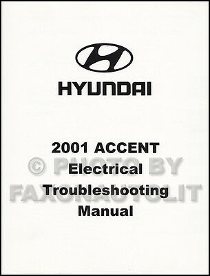 2001 Hyundai Accent Electrical Troubleshooting Manual Wiring Diagram Book  OEM | eBay | Hyundai Accent 2001 Wiring Diagram |  | eBay