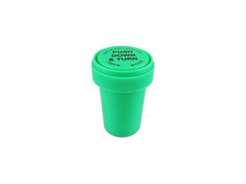 Réversible Vis Top flacons RX Labels 20dr PopTop conteneurs de stockage Pop Top