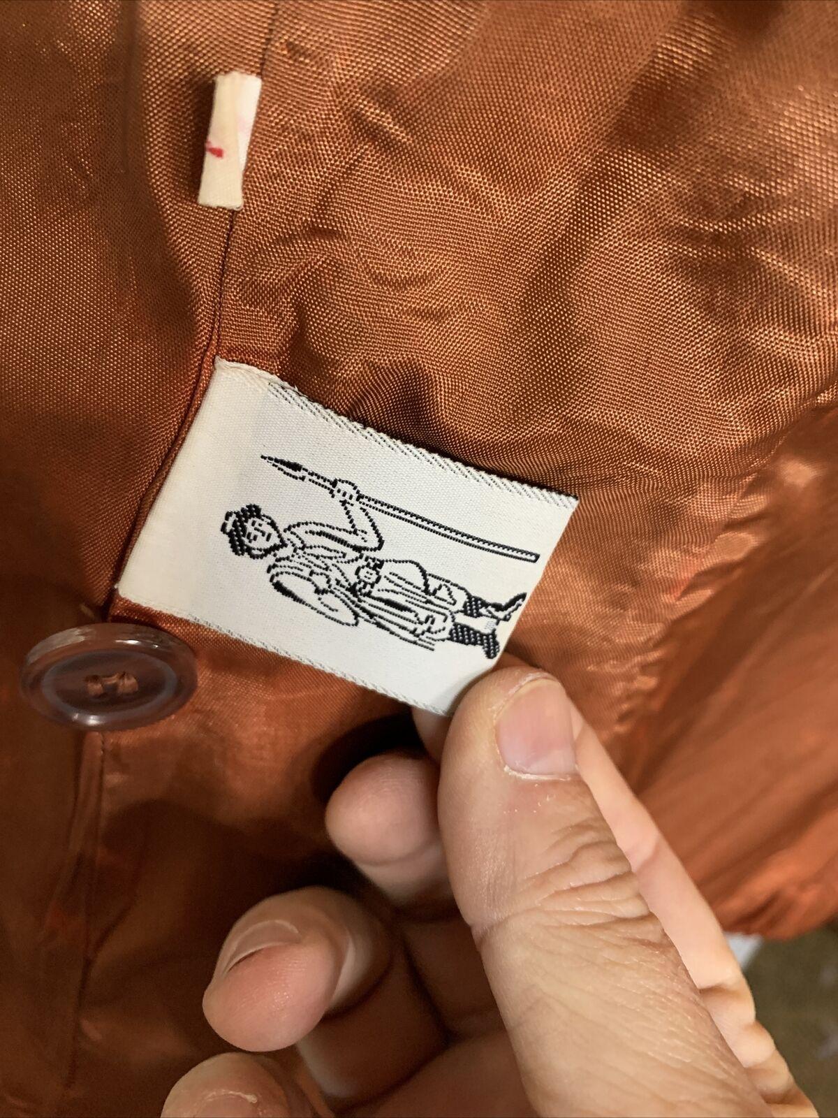 Vintage 1970s Casual Corner Leather Suede Brown J… - image 10