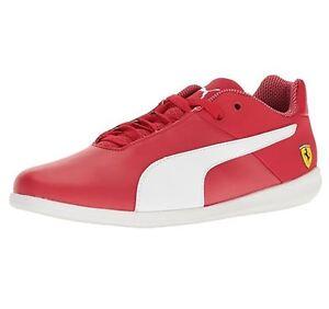 0e237e5c1ba0 Puma Men s Future Cat Casual US 11 M Red Leather Motorsport Sneakers ...
