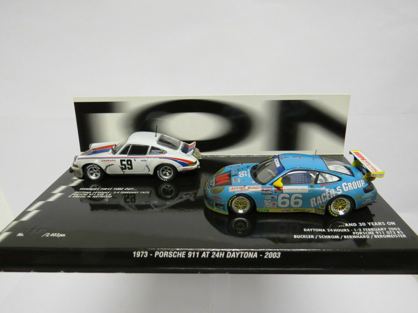 Porsche 911 AT 24H Daytona 1973-2003 Minichamps 402036996 Very Rare