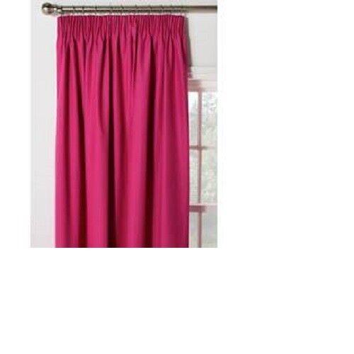 Argos Blackout Thermique 46x54 rose fuchsia Rideaux Crayon Pleat