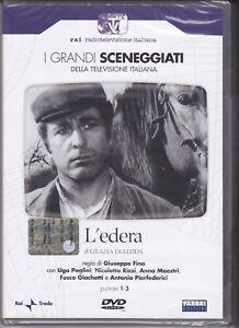 2-Dvd-Box-Sceneggiati-Rai-L-039-EDERA-con-Ugo-Pagliai-completa-nuovo-1974
