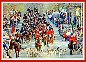 Christmas In Middleburg.Details About Christmas In Middleburg Virginia Annual Christmas Parade Pack Of 10 Cards