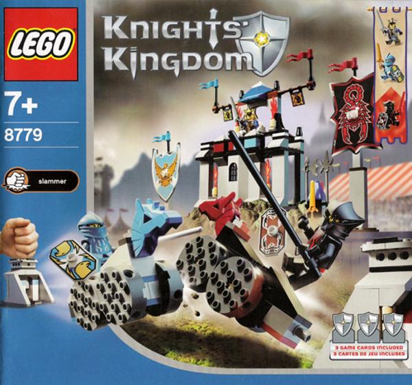 caldo LEGO 8779 - - - Castle  Knights redom II - The Gre Tournament - 2004 - NO scatola  vendita con alto sconto