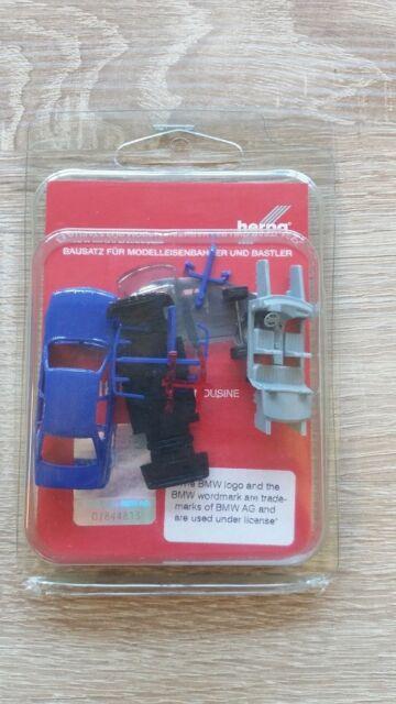 Herpa 012201-006 MINIKIT BMW 5er e 34 l/'oltremare blu KIT BLU 1:87 NUOVO