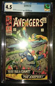 Avengers-1st-Series-31-1966-CGC-4-5-VG-Stan-Lee-Story