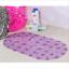 Large Pebble Shower Mat Bathroom Suction Anti Non slip Bath Wet Room Toilet Deco