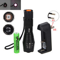 Hot Night Vision 7w Ir 940nm Osram Infrared Led Flashlight +18650+mount+charger