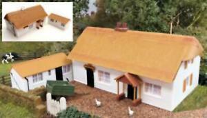 Gaugemaster-GM411-OO-Gauge-Fordhampton-Farmhouse-Holiday-Cottage-Plastic-Kit