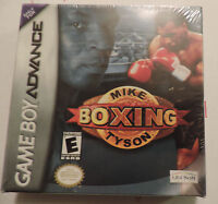 Mike Tyson Boxing (nintendo Game Boy Advance, 2002) - Brand - Sealed - Gba